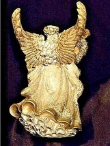 Angel Figurine with Silver Wings AA18-1369 Vintage image 2