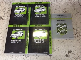 2009 Toyota Land Cruiser Service Shop Repair Workshop Manual Set Oem W Ewd - $494.99