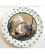 Lowell Herrero Vandor 1986 Collection Decorative Cat & English Sheepdog ... - $24.99