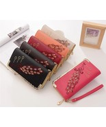 [Bag] Fabulous Peacock PU Leather Long Purse/Wallet/Clutch for Woman Gift - $16.99