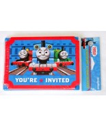 Designware Thomas and Friends Invitations and Thank You Notes w/ Envelop... - $11.63