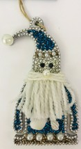 "Seas & Greetings Beaded Jeweled Shell 4"" Santa Claus Nautical Christmas ... - $17.41"