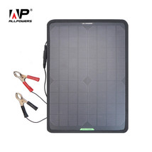 ALLPOWERS Solar Panel Car Charger 10W 12V Solar Car Battery Maintainer C... - $70.10