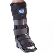 Corflex Pneumatic Walker-Large-Lower Leg - Black - $94.99