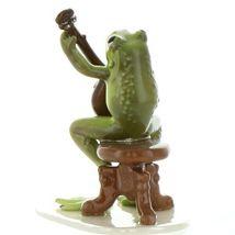 Hagen Renaker Miniature Frog Froggy Mountain Breakdown Banjo Ceramic Figurine image 3