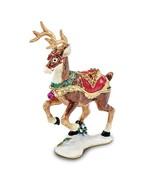 Bejeweled Christmas Reindeer Trinket Box - $72.99