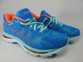 Asics Gel Nimbus 19 Size US 8.5 D WIDE EU 40 Women's Running Shoes Blue ... - $87.50
