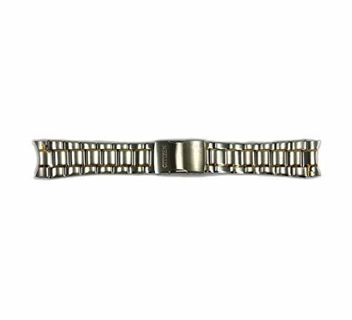 Primary image for Citizen 59-S04884 Original Replacement Two-Tone Stainless Steel Watch Band Brace