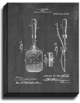 Spatula Patent Print Chalkboard on Canvas - $39.95+