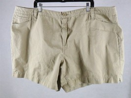 Faded Glory Womens Brown Shorts Size 26W 46, Measures 50 x 7 - $19.79