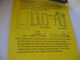 American Limited #9010 Streamline Passenger Car Diaphragms for 1 Car HO-Scale image 3
