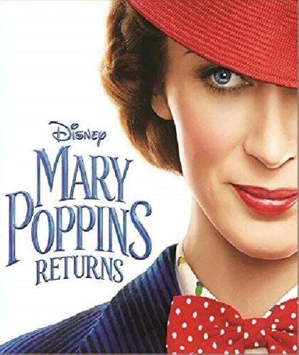 Mary Poppins Returns  (DVD 2019 New)