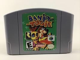 Nintendo 64 Banjo-Tooie Game Pak N64 Video Game Cartridge Vintage 1997 Rated E - $80.14