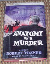Anatomy of a Murder by Robert Traver 1958 HBDJ - $5.00