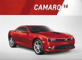 2014 Chevrolet CAMARO brochure catalog 14 Chevy Coupe Convertible RS SS ... - $8.00