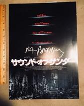 Ray Bradbury A SOUND OF THUNDERl Signed Japanese movie fold-out; ultra rare - $189.19