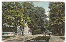Skovloberhuset Dryehaven Dryehave Forest Park Denmark 1910c postcard - $6.44
