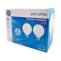 2pk - GE 60W G25 Frosted Decorative 2700K Incandescent Light Bulb - $9.19