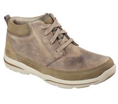 Men's SKECHERS Relaxed Fit Harper - Bilney Boot, 64854 /KHK Sizes 8-14 K... - £63.17 GBP