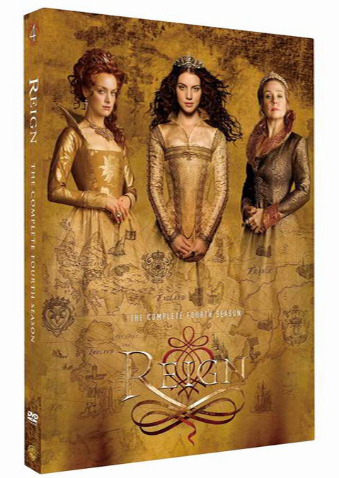 Reign The Complete Fourth Season 4 DVD Box Set 3 Disc Free Shipping New