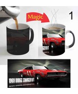 Dodge Charger Car Magic Mug Heat Reactive Color Change Coffee Mug 11 Oz ... - $15.83