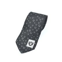 NFL Ralph Marlin Oakland Raiders Football Silk Tie Necktie - $29.69