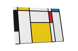 """Pingo World 1218PXVON8G """"Pop 'Abstract Rectangles I'"""" Gallery Wrapped Ca... - $53.41"""