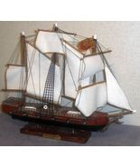 Spanish Frigate Model Made In Spain - $35.00
