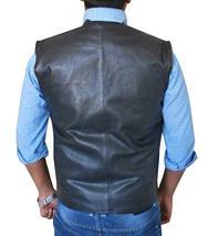 Dark Matter Three Anthony Lemke Black Leather Padded Vest image 4