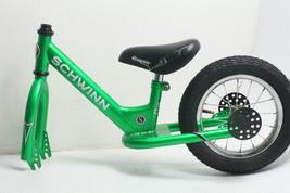 Schwinn Balance Bike 12 Inch Wheel Size Stride Bike Ages Youth 2 3 4 Green - $58.46