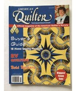 American Quilter Official Magazine Of The American Quilters Society Summ... - $4.93