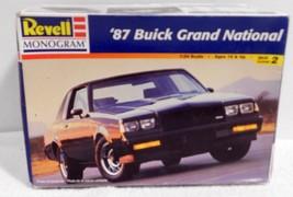 OPEN BOX Revell Monogram 87 Buick Grand National Model Kit 1:24 #85-2497 - $23.75