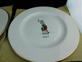 "Merry Masterpieces American Collection Porcelain 8"" Salad/Dessert Plates... - $17.81"