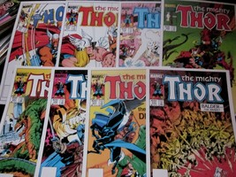 Marvel Cover Collection #2: THOR #337-344 (8 Cardstock Glossy Covers) NM... - $15.68