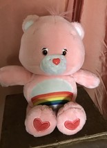 Care Bears CHEER Care-A-Lot Friends Talking LIGHT UP Plush Toy Animal 20... - $33.68