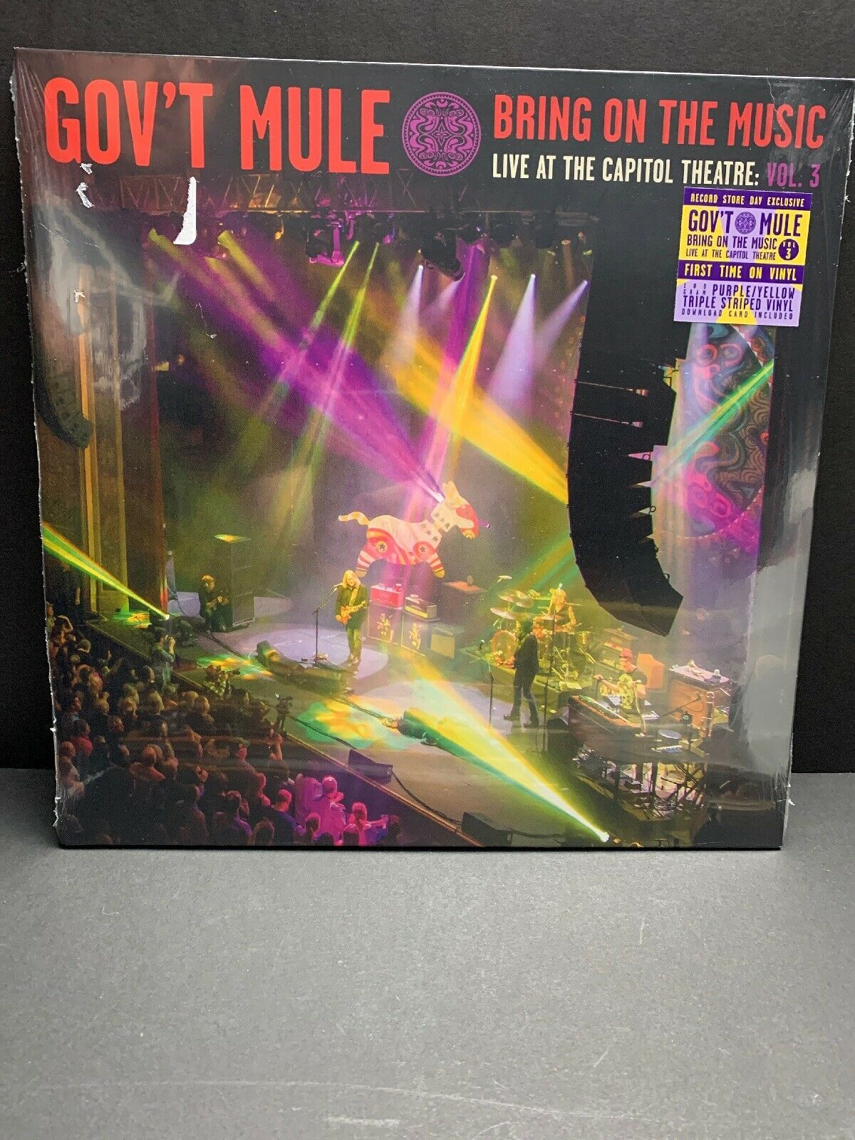 Primary image for Gov't Mule Bring On the Music Live At The Capitol Theatre Vol3 Colored Vinyl RSD