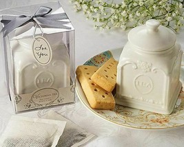 Victorian Tea Porcelain Tea Caddy Gift - $11.85
