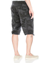 Men's Tactical Combat Military Army Cotton Twill Camo Cargo Shorts With Belt image 8