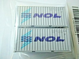 Fox Valley Models # FVM 891001 NOL 20' Corrugated Container 2/Pack N-Scale image 1