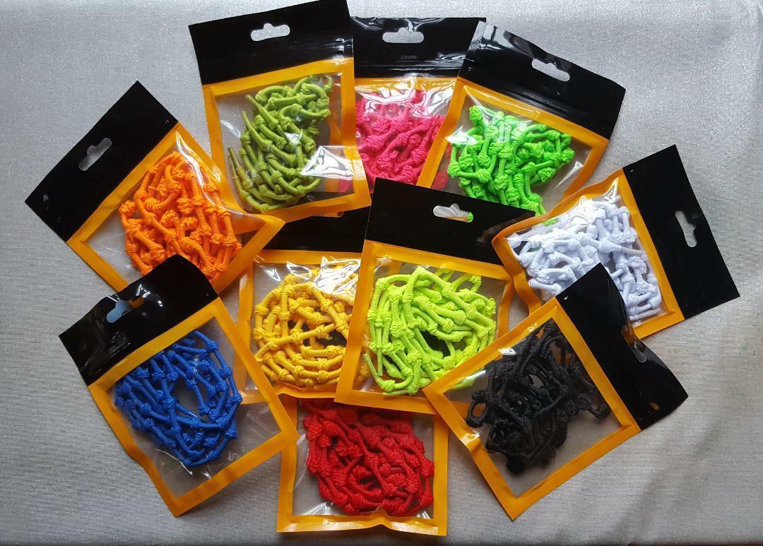 Qualität Elastic Knot Shoelaces No Tie Easy Stretch Fit Triathlon Sport Laces UK