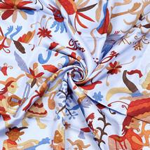 Auth Hermes Scarf DIN TINI YA ZUE 90cm Silk Foulard EZEQUIEL V JOSE - $309.95