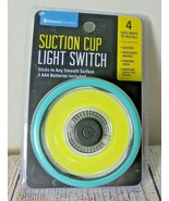 Suction cup light switch HomeWorks Room Car Indoor Portable Battery LED ... - $14.80
