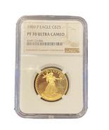 1989-P American Gold Eagle NGC PF70 Ultra Cameo  - $1,245.25