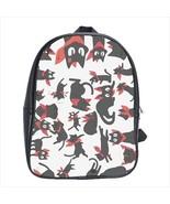 backpack school bag sakamoto nichijou student anime manga kawaii - $42.00