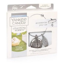☆☆CHARMING SCENTS CLEAN COTTON STARTER KIT☆YANKEE CANDLE☆FREE SHIPPING N... - $13.85