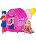 Pop Up Kids Bakery Play Tent Indoor Outdoor Playhouse - $40.00