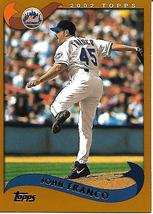 Baseball Card- John Franco 2002 Topps #182 - $1.25