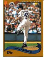 Baseball Card- John Franco 2002 Topps #182 - $1.25