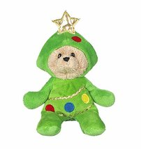 Ganz Wee Bears Costumed Teddy Bear: Decorated Christmas Tree - $14.95