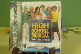 High School Musical: Livin' the Dream (Nintendo Game Boy Advance) New Re... - $6.88